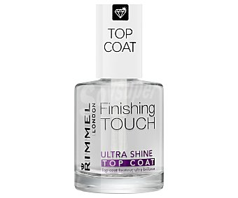 Rimmel finish touch ultra shine top coat Tramiiento mejorador del brillo Finish touch ultra shine top coat