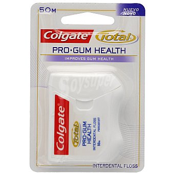 Colgate Total Seda Dental Total interdental 50 metros.