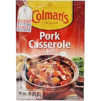 Colmans Salsa cazuela de cerdo Sobre 40 g