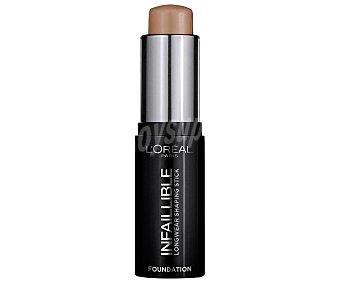 L'ORÉAL Infalible Base de maquillaje en stick de textura cremosa, tono 200 Miel 24 h Infalible 24 H