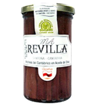 M A Revilla Anchoas del Cantabrico en aceite de oliva 150 g