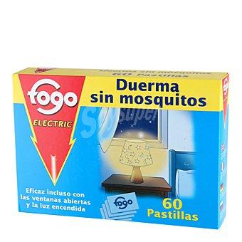 Fogo Insecticida Recambio Electrico pastillas 60 ud