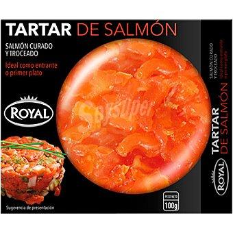 Royal Tartar de salmón curado Tarrina 100 g