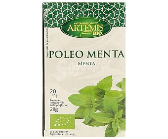 Artemis Bio Poleo - Menta Procedente de Agricultura Ecológica 20u