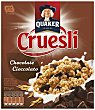 Cereales cruesli con chocolate 375 g Quaker