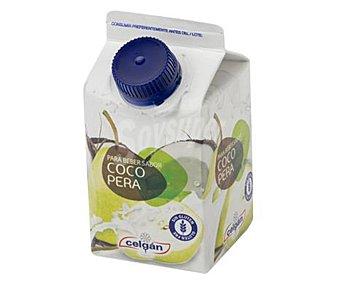 Celgán Yogur líquido para beber, sin gluten y con sabor a coco y pera CELGAN 235 ml. 235 ml