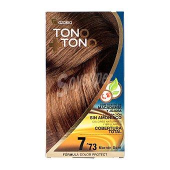 Azalea Tinte coloración tono sobre tono Nº7.73 marrón dore u