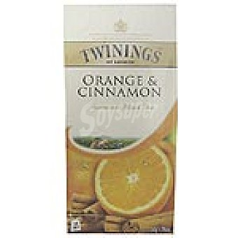 Twinings té de naranja y canela Estuche 25 unidades
