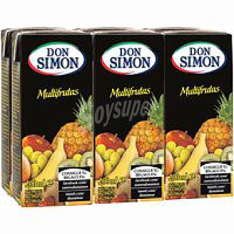 Don Simón Néctar multifruta Pack 6x20 cl