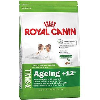 ROYAL CANIN X-SMALL AGEING + 12 Alimento especial para perros de + 12 años de edad y peso menos de 4 kg bolsa 1,5 kg 4 kg