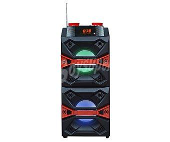 ICARUS Altavoz portátil IC-SS10N, 10W, Bluetooth, Radio FM, usb, lector tarjetas SD, Karaoke 10W, Bluetooth, Radio FM, usb, lector tarjetas SD, Karaoke
