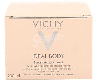 Vichy Bálsamo corporal para la nutrición de las pieles secas y muy secas, contiene 10 aceites fundamentales para la piel, LHA y Acido Hialurónico Sin parabenos 200 ml