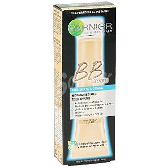 Skin Naturals Garnier Cream Perfeccionador Prodigioso todo en uno con un toque de color claro para pieles mixtas a grasas BB Tubo 40 ml