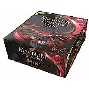 Frigo Magnum Mini Magnum Temptation de frutas del bosque Pack 6x50 ml