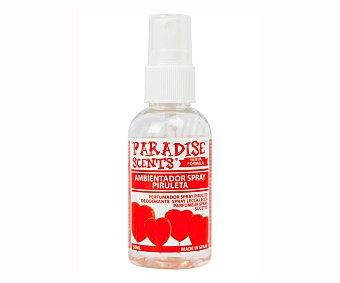 Paradise scents Ambientador coche spray con aroma piruleta scents