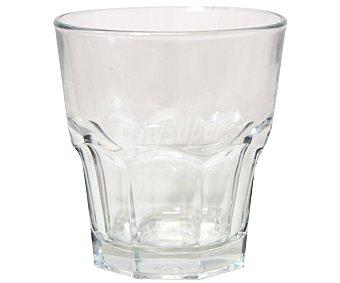 AUCHAN Vaso modelo Casablanca con capacidad de 27 centilitros y fabricado en cristal 1 Unidad