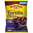 Tortilla chips blue corn  bolsa 150 g Old El Paso
