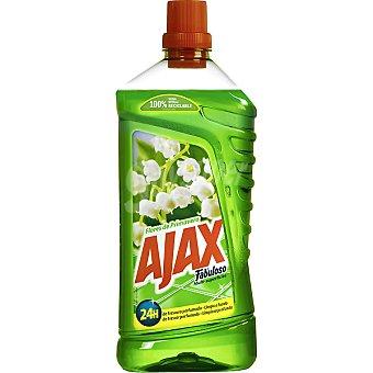 Ajax Limpiahogar fabuloso flores de primavera 1250 ml