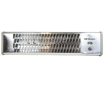 Orbegozo Radiador infrarrojos de pared, potencia max: 1500w, 3 niveles de calor, orientable, apto para baño BB5001R