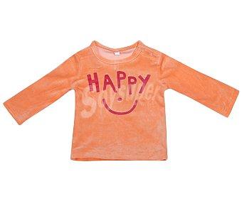In Extenso Pijama de bebe de terciopelo, color naranja, talla 98