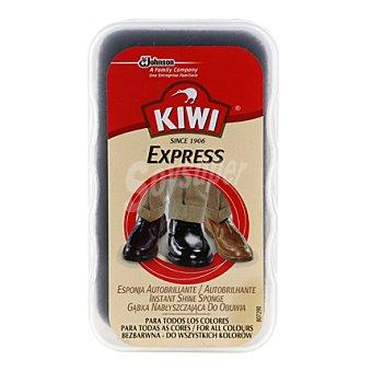 Kiwi Esponja autobrillante para calzado 1 ud