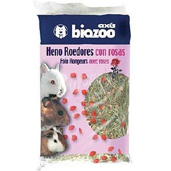 BIOZOO AXIS Heno para roedores con rosas Paquete 325 g
