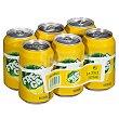 Limon con gas Lata pack 6 x 330 ml - 1980 ml Hacendado
