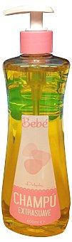 DELIPLUS Champú cabello bebe extra suave  Botella de 600 cc