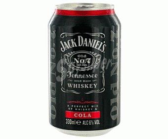 Jack Daniel's Jack&cola Lata 33 Centilitros