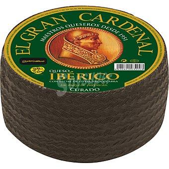 Gran Cardenal Queso ibérico curado con leche de oveja vaca y cabra pieza 3,2 kg 100 gramos