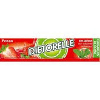 Dietorelle Caramelo de fresa Lc Paquete 27 g