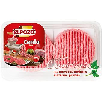 ElPozo Hamburguesas de cerdo Bandeja 320 g