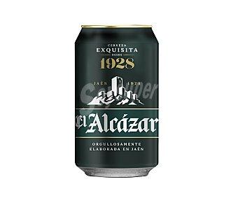 EL ALCAZAR Cerveza rubia 33 cl