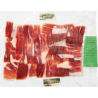 IBESUREX Jamón ibérico de bellota Extremadura cortado a mano sobre 100 g Sobre 100 g