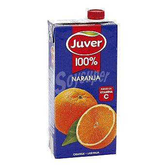 Juver Zumo de naranja 100% Brik 1 l