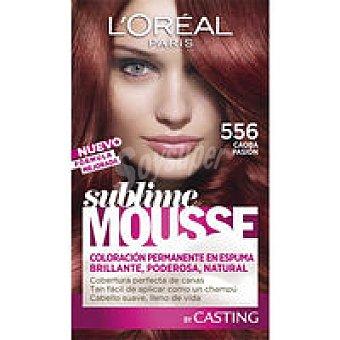 Sublime L'Oréal Paris Tinte caoba pasión N.556 Caja 1 unid