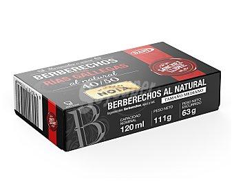 DANI SANCHEZ LLIBRE Berberechos al natural de las Rías Gallegas 40/50 piezas 63 g