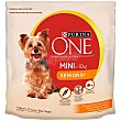 Mini senior pienso para perros adultos de raza mini - años 1,5 kg rico en pollo con arroz 10 kg + 8 Purina One