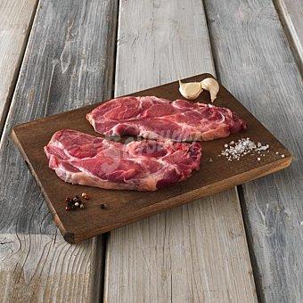 Chuleta de aguja de cerdo bandeja (peso aprox. 750 gr) 750 gr