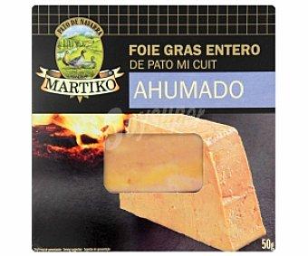 MARTIKO Foie gras de patao ahumado 50 Gramos