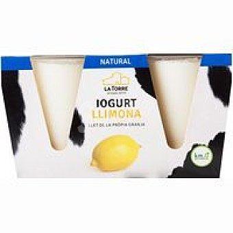 Latorre Iogurt de llimona Pack 2x125 g