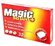 Encendedoras, fuego instantaneo, magic Caja de 32 pastillas Magic