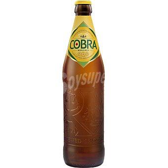 Cobra Cerveza rubia India Botella de 33 cl
