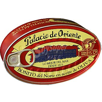 Palacio de Oriente Bonito en aceite de oliva lata 150 g neto escurrido