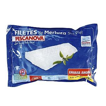 Pescanova Filetes de merluza sin piel Paquete 800 g (peso neto escurrido)