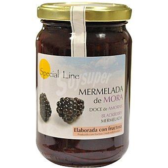 Special Line Mermelada de mora con fructosa sin gluten y sin azúcar añadido Envase 345 g