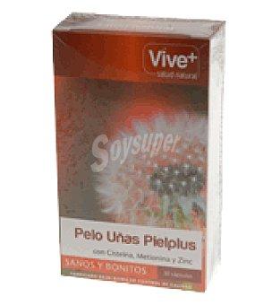 Vive+ Pelo-uñas-pielplus 1 paquete de 30 c