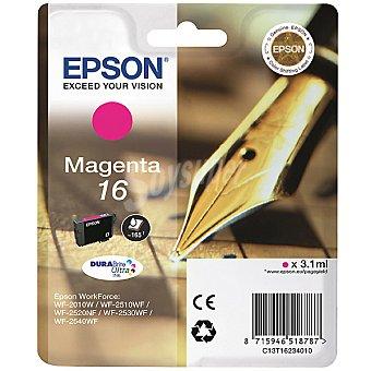 Epson Nº 16 cartucho de tinta color magenta