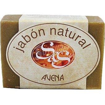S&S Pastilla de jabón natural de Avena Pastilla 100 g