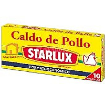 Starlux Caldo de pollo 10 pastillas